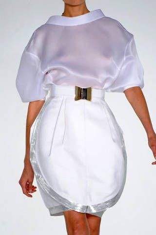 Gianfranco FerrÃ{{{copy}}} Spring 2009 Ready-to-wear Detail - 001