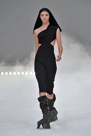 Rick Owens Spring 2009 Ready-to-wear Collections - 001