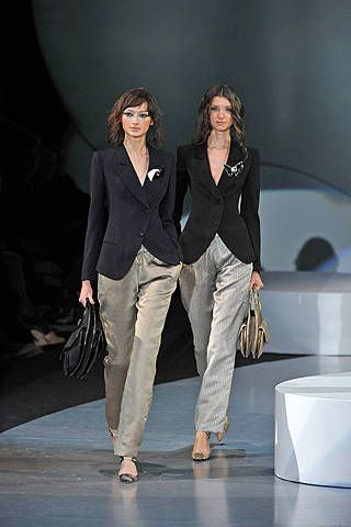 Giorgio Armani Spring 2009 Ready-to-wear Collections - 001