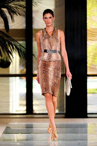 Elie Tahari Spring 2009 Ready-to-wear Collections - 001
