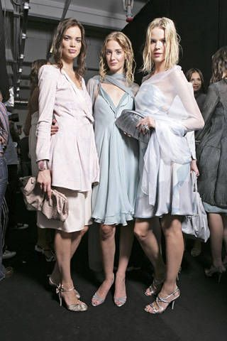 Giorgio Armani Spring 2009 Ready-to-wear Backstage - 001