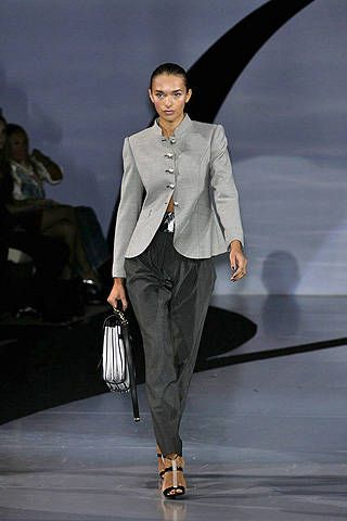 Emporio Armani Spring 2009 Ready-to-wear Collections - 001