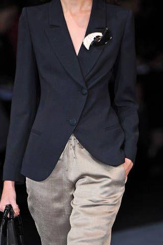 Giorgio Armani Spring 2009 Ready-to-wear Detail - 001