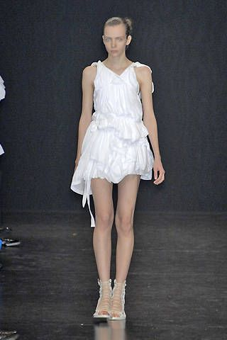 Ann Demeulemeester Spring 2009 Ready-to-wear Collections - 001