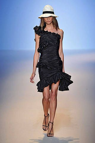 Emanuel Ungaro Spring 2009 Ready-to-wear Collections - 001