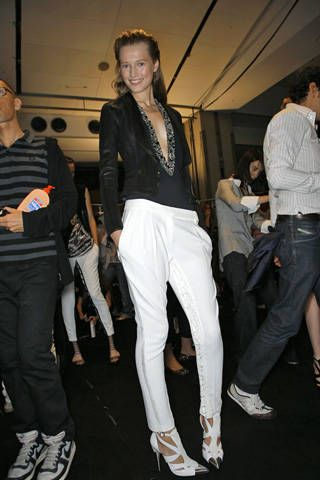 Barbara Bui Spring 2009 Ready-to-wear Backstage - 001