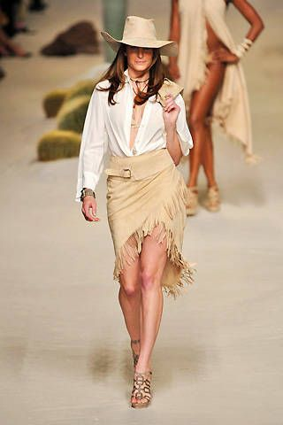 Hermes Spring 2009 Ready&#45&#x3B;to&#45&#x3B;wear Collections &#45&#x3B; 001