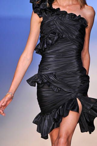 Emanuel Ungaro Spring 2009 Ready-to-wear Detail - 001