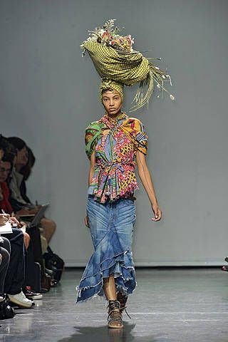 Junya Watanabe Spring 2009 Ready-to-wear Collections - 001