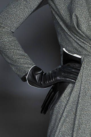 Sleeve, Black, Grey, Leather, Pocket, Gesture, Silver, Top, Button, Glove,