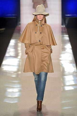 Clothing, Brown, Sleeve, Hat, Textile, Outerwear, Coat, Style, Jacket, Display device,