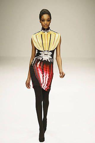 Mary Katrantzou fall fashion 2009