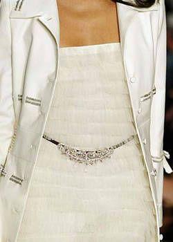 Badgley Mischka Spring 2004 Ready-to-Wear Detail 0001