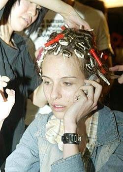 Blaak Spring 2004 Ready-to-Wear Backstage 0001
