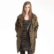 Clothing, Brown, Human body, Sleeve, Shoulder, Textile, Human leg, Joint, Style, Fashion model,