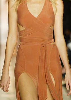 Donna Karan Spring 2004 Ready-to-Wear Detail 0001