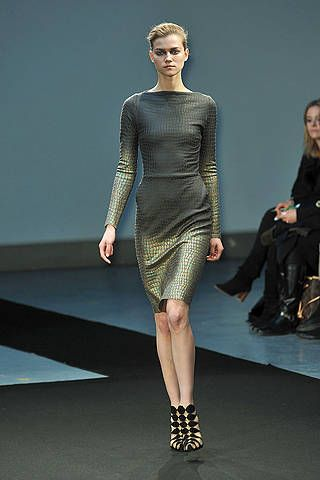 Clothing, Footwear, Leg, Human body, Fashion show, Shoulder, Joint, Human leg, Runway, Dress,