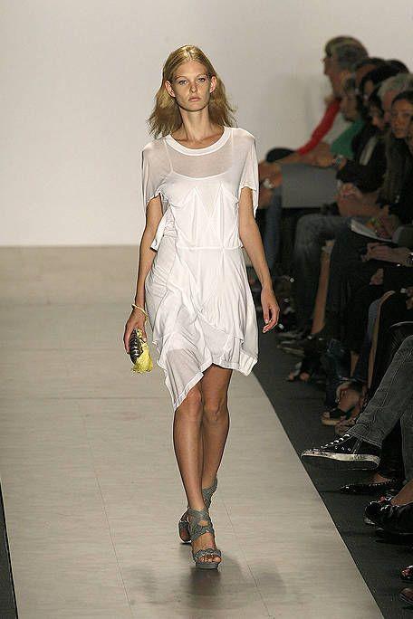 Clothing, Footwear, Leg, Shoulder, Dress, Fashion show, Human leg, Joint, Style, One-piece garment,