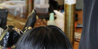 Hairstyle, Bangs, Style, Wig, Black hair, Artificial hair integrations, Hime cut, Bob cut, Hair coloring,