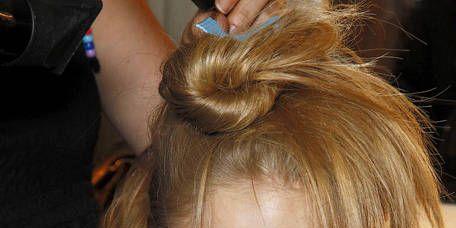 Lip, Hairstyle, Eyebrow, Style, Hair accessory, Fashion, Eyelash, Neck, Blond, Hair coloring,