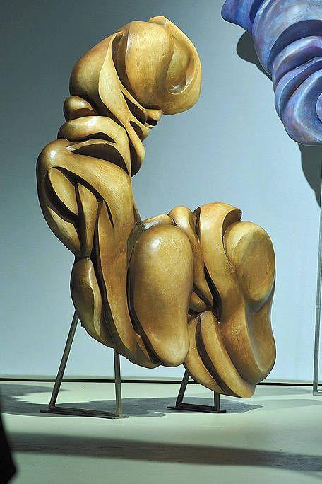 Sculpture, Knee, Art, Muscle, Trunk, Chest, Animation, Statue, Bronze sculpture, Animated cartoon,
