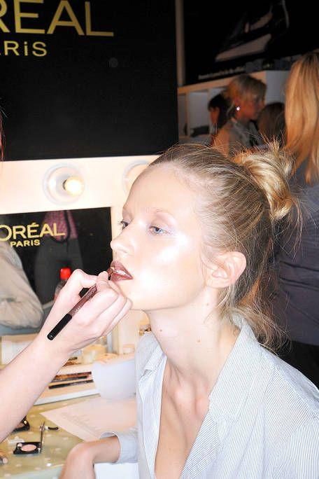 Ear, Lip, Eyelash, Nail, Beauty, Long hair, Earrings, Brown hair, Taste, Blond,