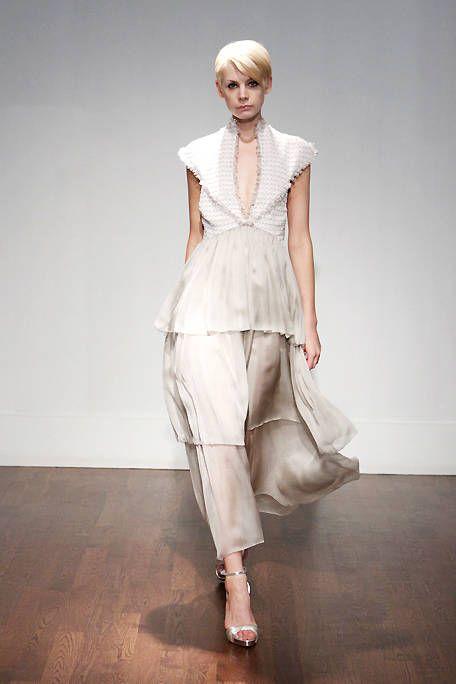 Clothing, Shoulder, Textile, Fashion show, Joint, Style, Fashion model, Floor, Fashion, Waist,