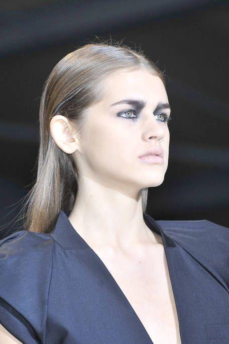 Clothing, Hair, Ear, Lip, Hairstyle, Chin, Forehead, Eyebrow, Eyelash, Style,