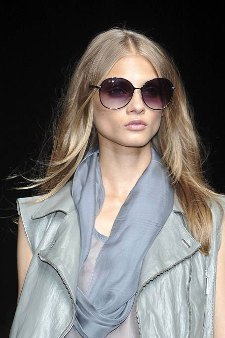 Clothing, Eyewear, Glasses, Vision care, Lip, Hairstyle, Collar, Sleeve, Sunglasses, Style,