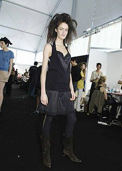 Just Cavalli Spring 2004 Ready-to-Wear Backstage 0001