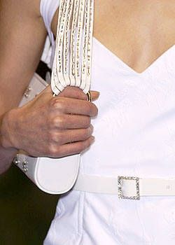 Laura Biagiotti Spring 2004 Ready-to-Wear Detail 0001