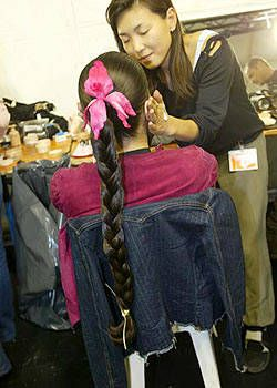 Celine Spring 2004 Ready-to-Wear Backstage 0001