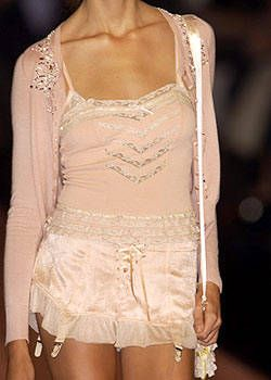 Blumarine Spring 2004 Ready-to-Wear Detail 0001