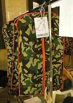 JeanCharles de Castelbajac Spring 2004 Ready&#45&#x3B;to&#45&#x3B;Wear Backstage 0001