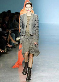 Rick Owens Spring 2004 Ready-to-Wear Collections 0002