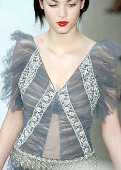 Badgley Mischka Fall 2004 Ready-to-Wear Detail 0001