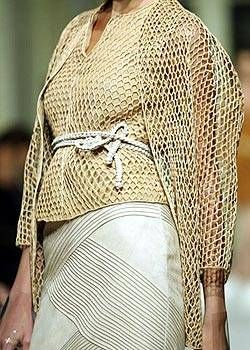 Ralph Rucci Spring 2004 Haute Couture Detail 0001