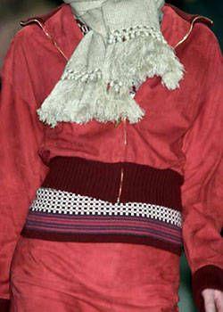 Carolina Herrera Fall 2004 Ready-to-Wear Detail 0001