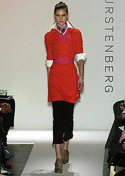 Diane von Furstenberg Fall 2004 Ready&#45&#x3B;to&#45&#x3B;Wear Collections 0001