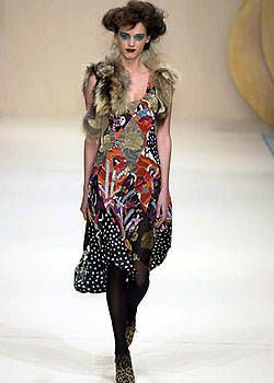 Clements Ribeiro Fall 2004 Ready-to-Wear Collections 0001