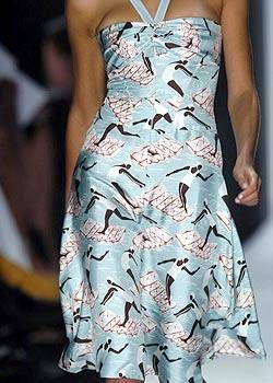 Carolina Herrera Spring 2005 Ready-to-Wear Detail 0001