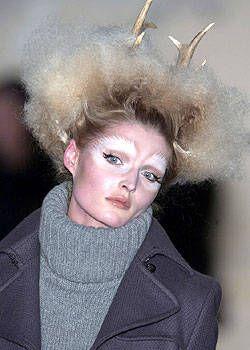 Nose, Lip, Hairstyle, Chin, Forehead, Eyebrow, Mammal, Costume accessory, Blazer, Eyelash,