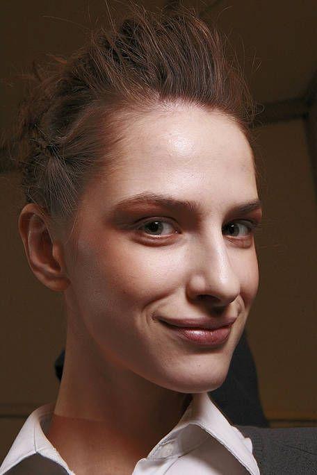 Head, Ear, Lip, Mouth, Hairstyle, Chin, Forehead, Eyebrow, Eyelash, Style,