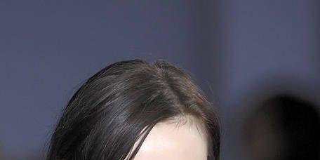 Lip, Cheek, Hairstyle, Chin, Forehead, Eyebrow, Eyelash, Black hair, Style, Jaw,