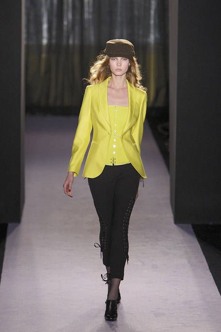 Clothing, Sleeve, Shoulder, Textile, Joint, Outerwear, Hat, Fashion show, Fashion model, Style,