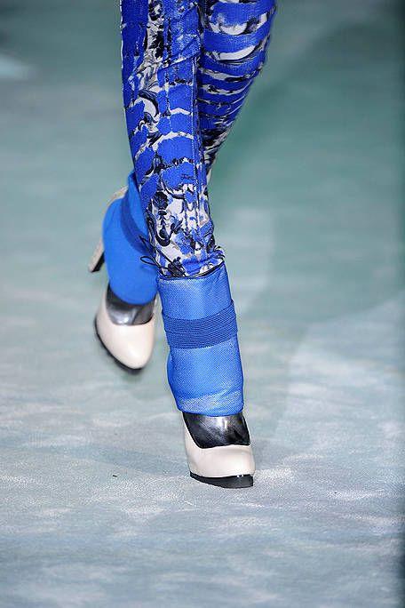 Blue, Electric blue, Cobalt blue, Knee-high boot,