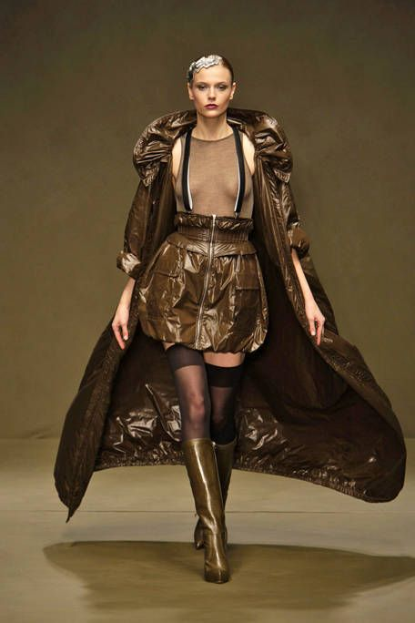 Clothing, Brown, Textile, Style, Leather, Costume design, Fashion, Liver, Beige, Fashion model,