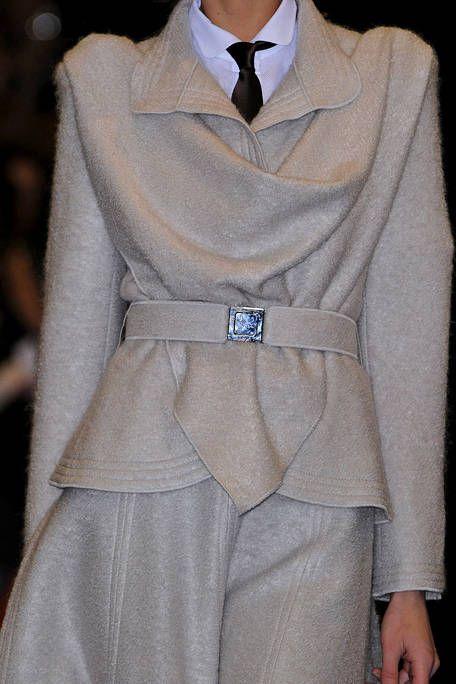 Clothing, Collar, Sleeve, Textile, Formal wear, Fashion, Grey, Beige, Fashion design, Costume,