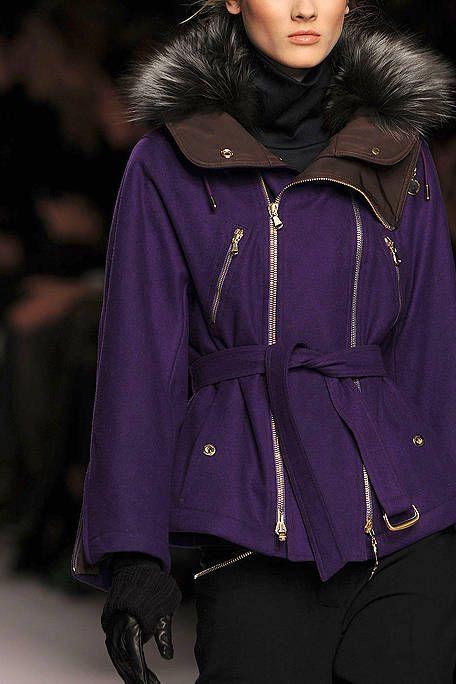 Clothing, Jacket, Sleeve, Textile, Winter, Purple, Outerwear, Fashion, Street fashion, Violet,