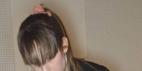Hair, Head, Ear, Hairstyle, Beauty salon, Style, Hairdresser, Long hair, Neck, Brown hair,
